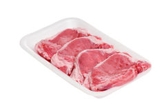 Piece of raw meat Stock Images