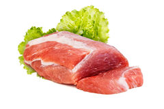 Piece of raw meat Royalty Free Stock Image