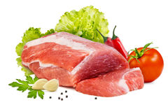 Piece of raw meat Stock Image