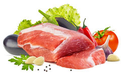 Piece of raw meat Royalty Free Stock Photo
