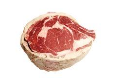 Piece of raw Prime Rib Roast Stock Images