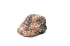 Piece of raw red marble Stock Photo