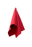 A piece of red cloth Royalty Free Stock Photos