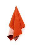A piece of red cloth Stock Image