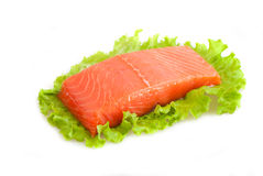 Piece of red fish Royalty Free Stock Photo