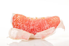 a piece of red honey pomelo Royalty Free Stock Images