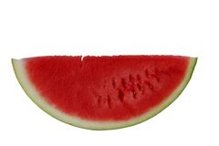 Piece of red watermelon Stock Photo