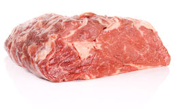Piece of ribeye Stock Photos