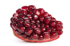 Piece of ripe pomegranate Royalty Free Stock Photo