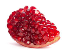 Piece of ripe pomegranate Royalty Free Stock Images