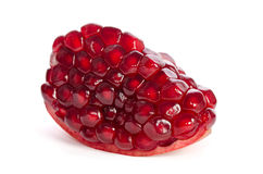 Piece of ripe pomegranate Royalty Free Stock Photography