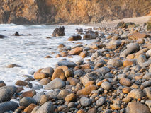Piece of rocky coast Royalty Free Stock Images