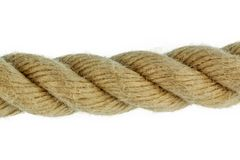 Piece of rope Royalty Free Stock Image