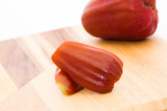 Piece of rose apple Royalty Free Stock Photography