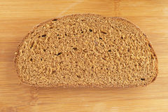 Piece of rye bread Royalty Free Stock Image