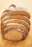 Piece of rye bread Royalty Free Stock Images