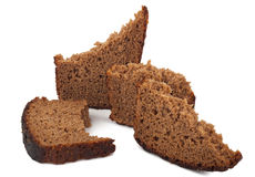 A piece of rye bread Stock Photography