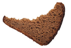 A piece of rye bread Royalty Free Stock Photo