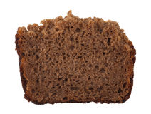 A piece of rye bread Stock Images