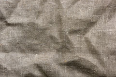 A piece of sackcloth Stock Images