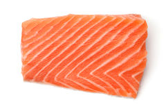 Piece of salmon stock images