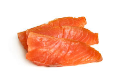 Piece of salmon Stock Photography