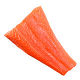 Piece of salmon isolated Royalty Free Stock Images
