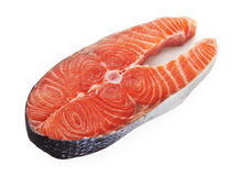 Piece of a salmon Stock Image