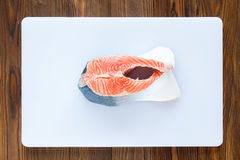 Piece of salmon Royalty Free Stock Photography