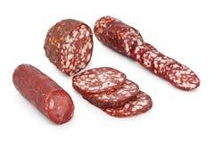 Piece of sausage Royalty Free Stock Image