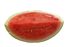Piece of small watermelon Stock Photos