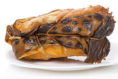 Piece of smoked catfish Stock Images