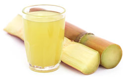 Piece of sugarcane juice Stock Photography