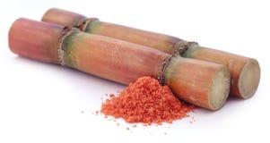 Piece of sugarcane Stock Photos