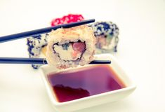 A piece of sushi Royalty Free Stock Photography