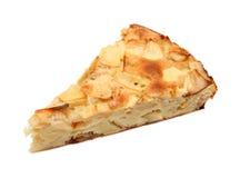 Piece of sweet apple pie Royalty Free Stock Photo
