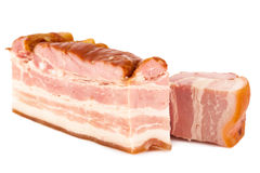 Piece of tasty pork bacon Royalty Free Stock Images