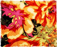 Piece of textile fabric Royalty Free Stock Photography