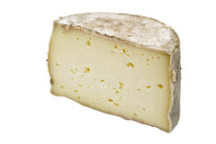 Piece of Tomme Cheese Stock Image