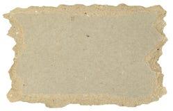 Piece of Torn Cardboard Royalty Free Stock Photos