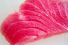 Piece of tuna fillet Royalty Free Stock Images