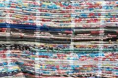 Piece of ukrainian carpet Stock Photos