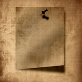 Piece of vintage paper Royalty Free Stock Photos