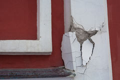 A piece of the wall Stock Photography