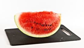 Piece of water-melon Stock Photography