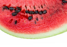 Piece of a water-melon Royalty Free Stock Photo