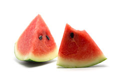 Piece of water melon Stock Photos