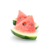 Piece of water melon Stock Photos