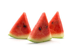 Piece of water melon Stock Images