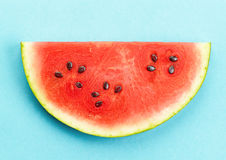 Piece of watermelon Royalty Free Stock Image